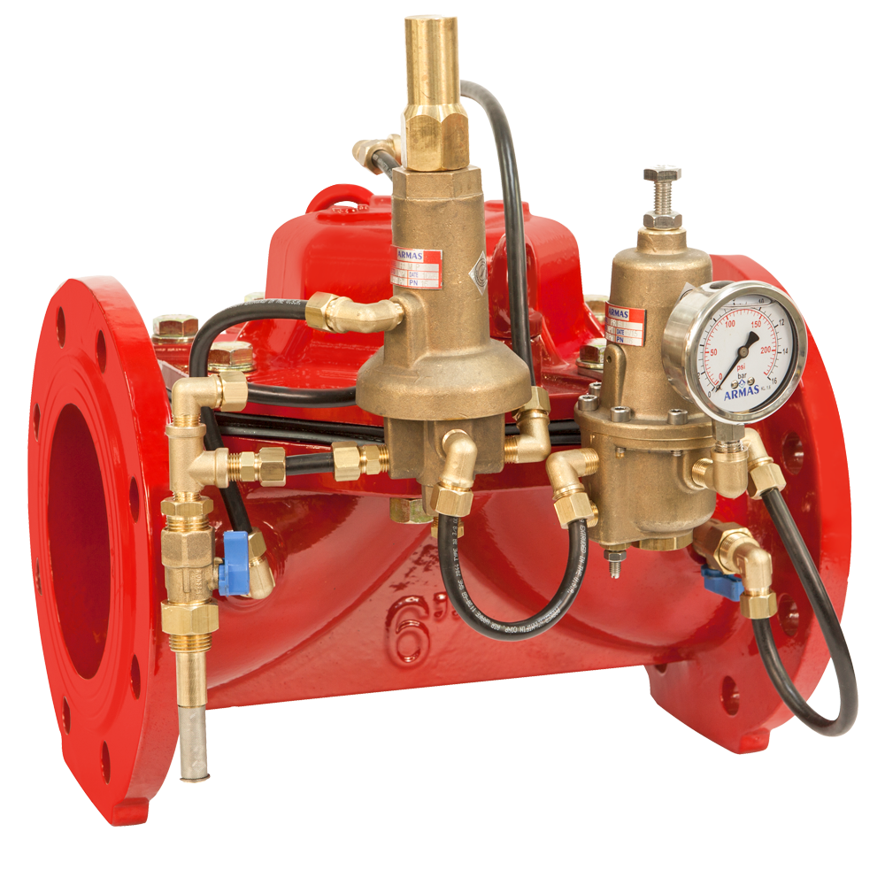 600 Series FRPR-Flow Rate Control and Pressure Reducing Valve