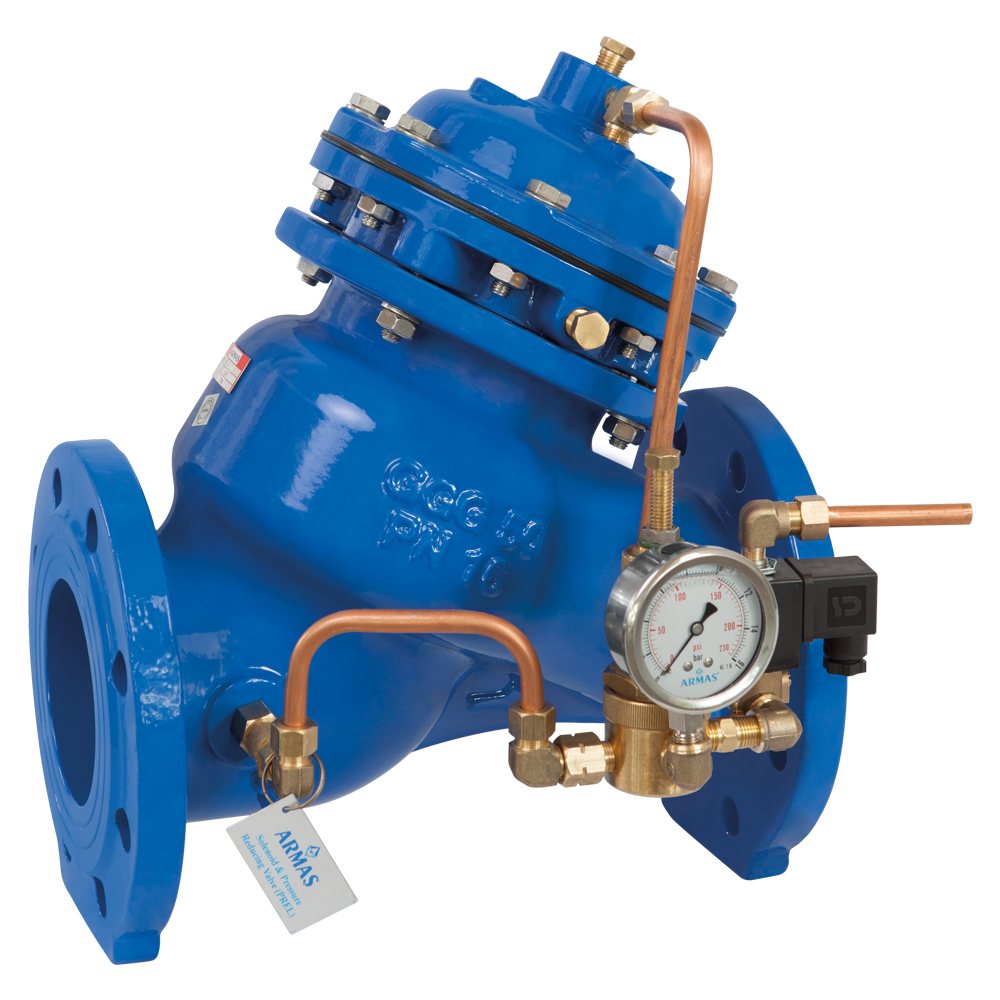800 Series PREL-Solenoid Controlled Pressure Reducing Valve