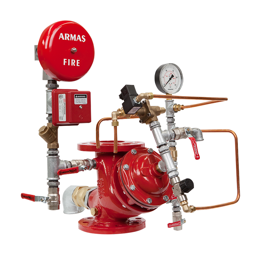 87DE-EL-AL Electric Activated Deluge Valve