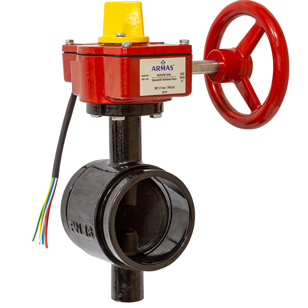 Butterfly Valve w/Supervisory Switch-Grooved Type