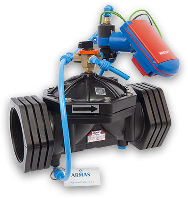 500 SERIES. Proper Irrigation for Perfect Results Low cost, Operation in wide pressure range and Perfect modulation even in lower flow rates