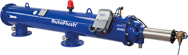 Reliability: Efficient Filtration at Various Flow Rates AutoFlush® provides Automatic Self-Cleanining System and uninterrupted filtration with unlimited solutions.